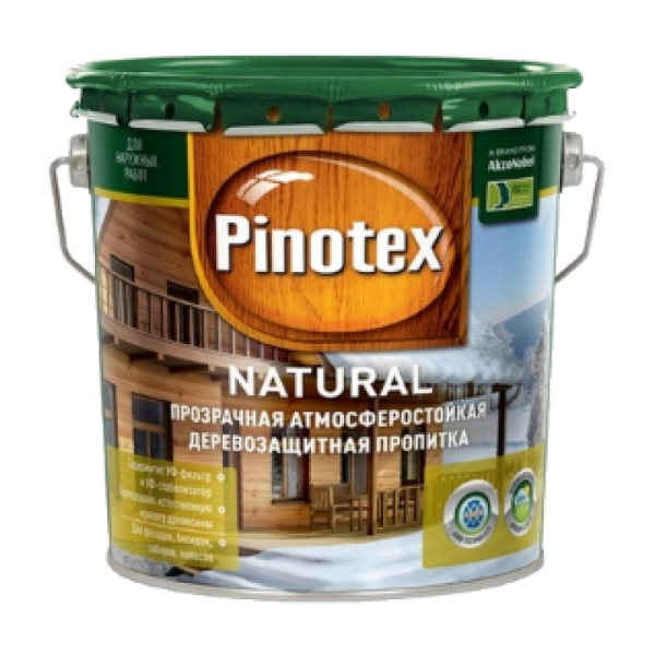 Декоративное покрытие Pinotex Natural