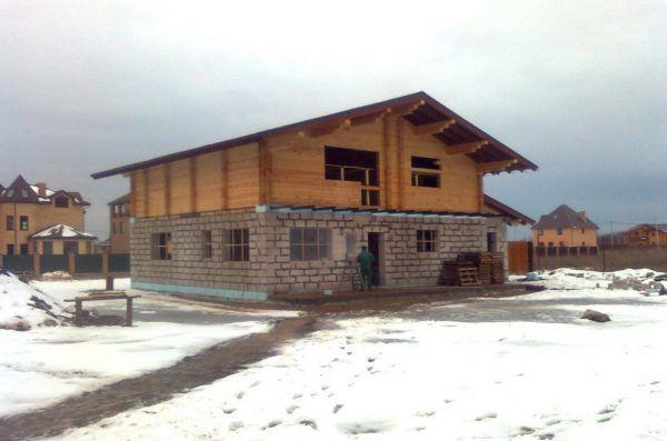Дом готов к отделке стен