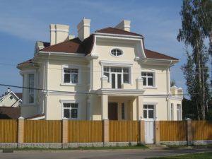 Дом в стиле русский модерн