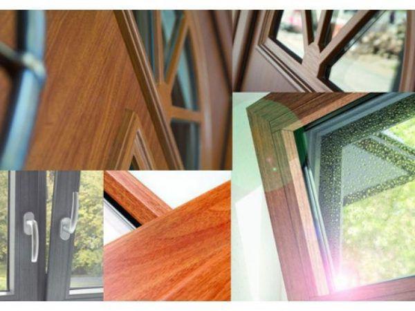 Еще несколько примеров ламинированных окон