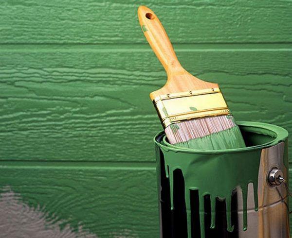 Фасадная краска по дереву для наружных работ