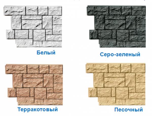Фасадные панели FineBer (цокольный сайдинг)