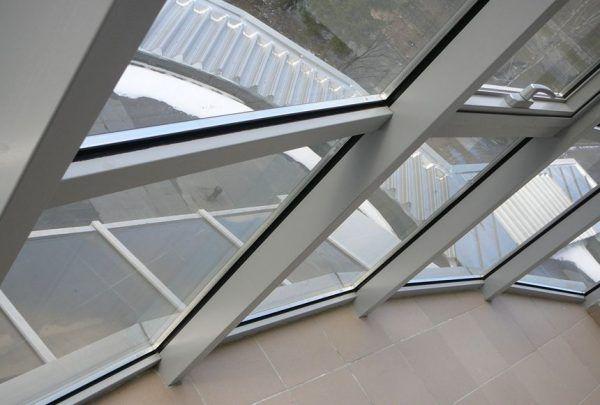 Фото алюминиевых балконных окон
