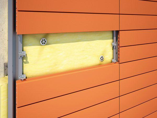 Использование дюбелей в системе вентилируемого фасада