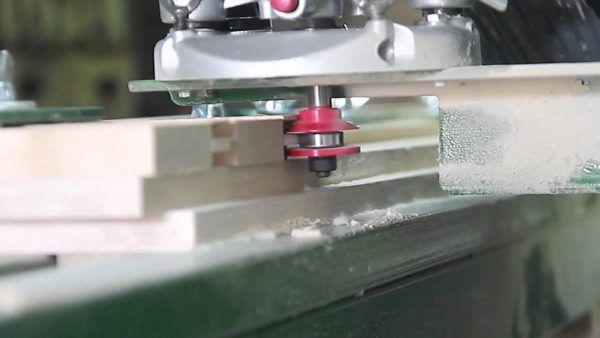 Изготовление евровагонки на фрезерном станке