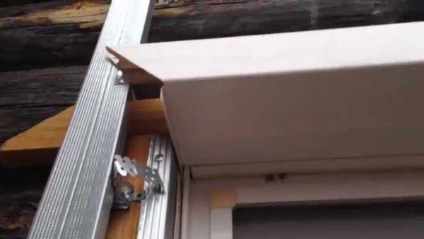 Обход окна сайдингом