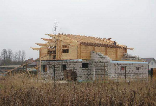 Обработка элементов крыши