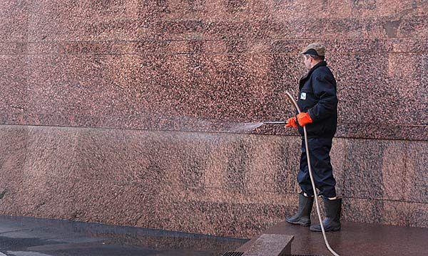 Очистка фасада зданий от загрязнения