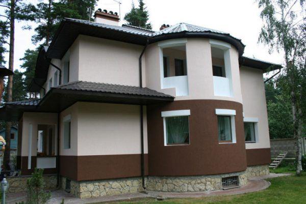 Отделанный фасад