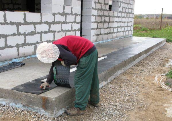 Подготовка гидроизоляции