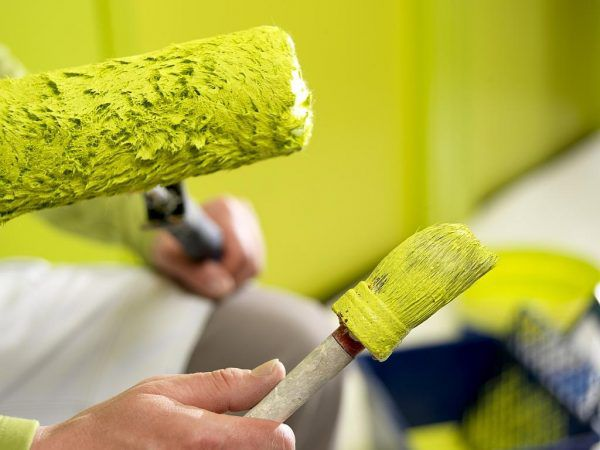 Полный срок высыхания латексной краски составляет около 4-6 часов