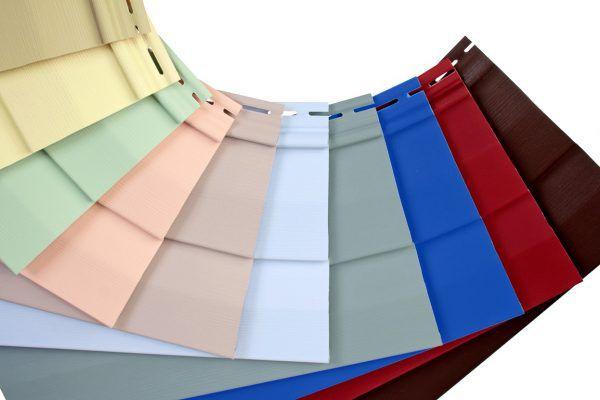 Популярные цвета сайдинга