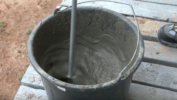 Приготовление клеевой смеси для пенополистирола
