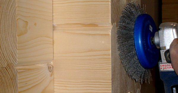 Шлифовка древесины