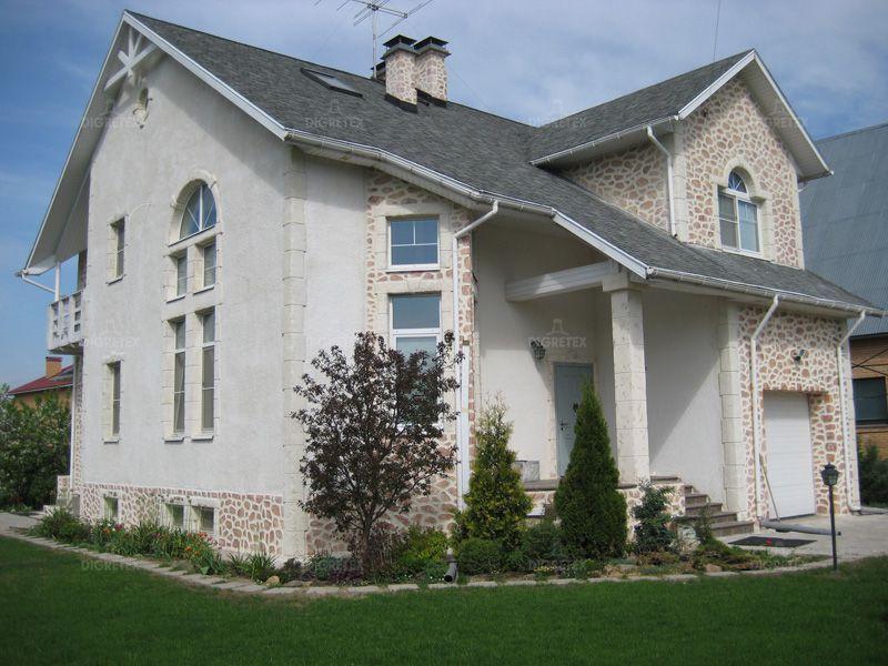 Обрамление окон пенопластом на фасаде дома фото