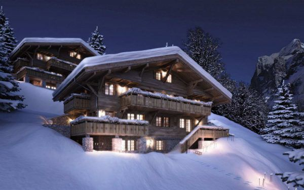 Типовые шале в Швейцарии