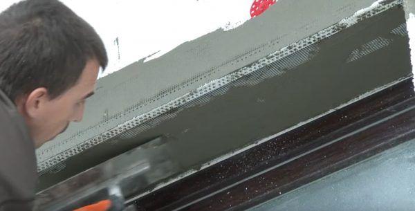 Заглаживание сетки