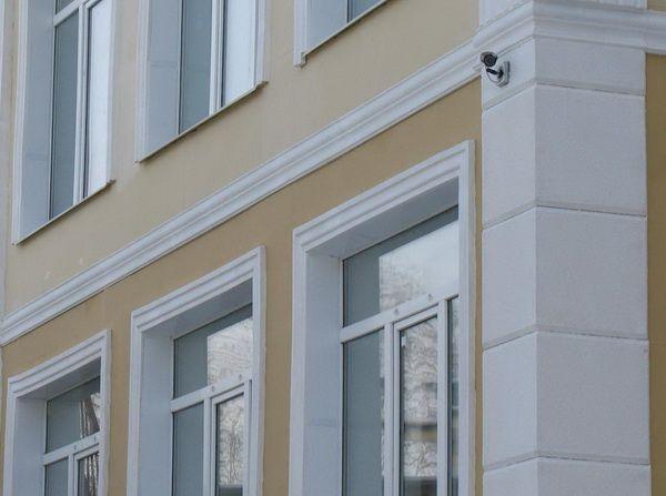Молдинг и угловой элемент утепленного фасада
