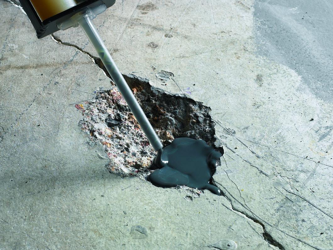 ремонтный состав для заделки трещин в бетоне