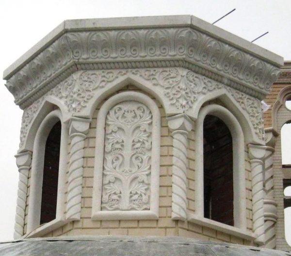 Декор из бетона на стеклянной фибре