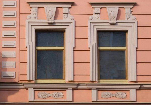 Декор из стеклокомпозита