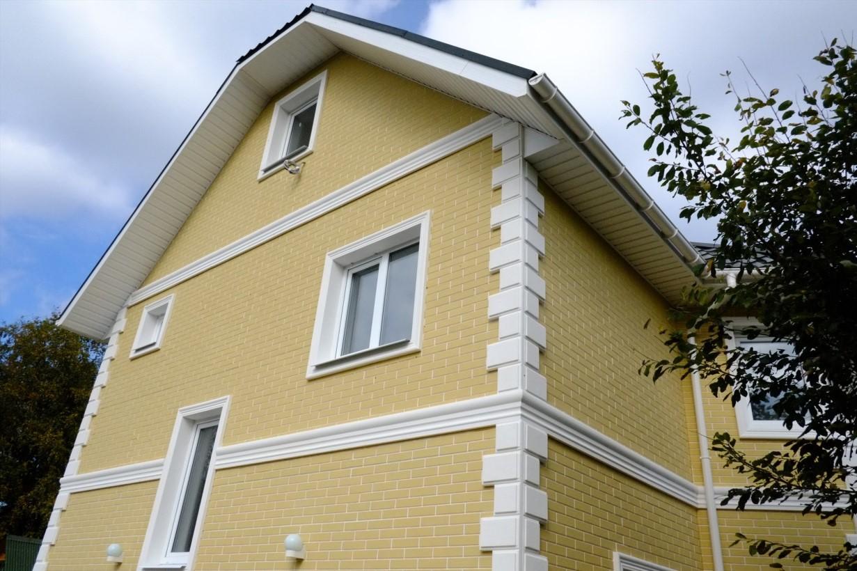 Фотогалерея отделки углов домов
