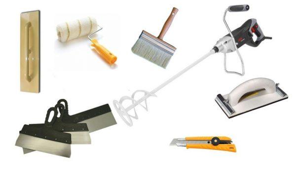 Необходимый набор инструмента