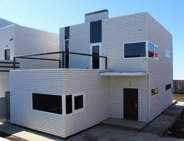 Современный дизайн фасада частного дома