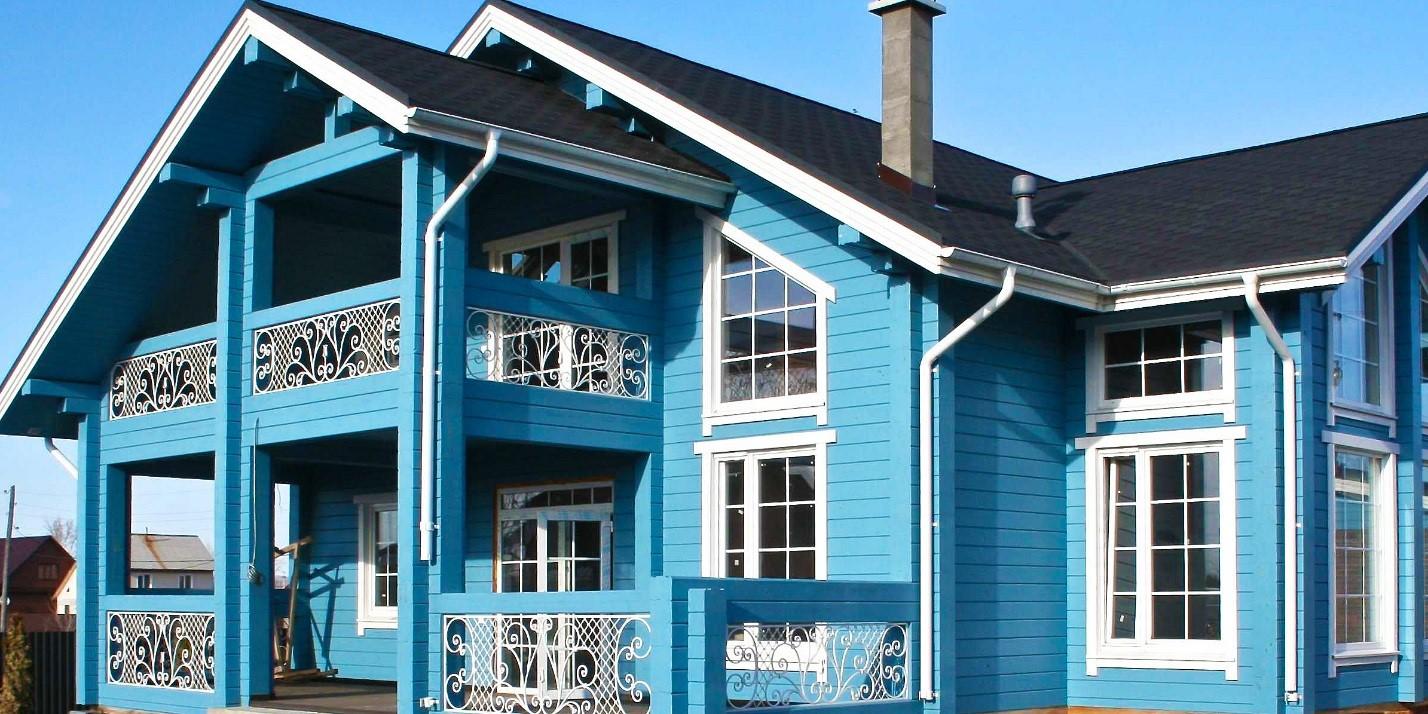 нашей фото покраска домов сверху совсем