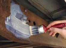 Для поврежденного металла следует использовать грунтовки с дополнительными свойствами устранения коррозии