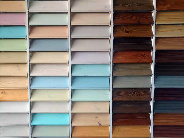 Многообразие цветовых решений для деревянных фасадов