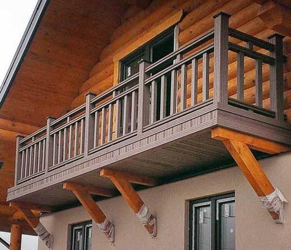 Балкон второго этажа
