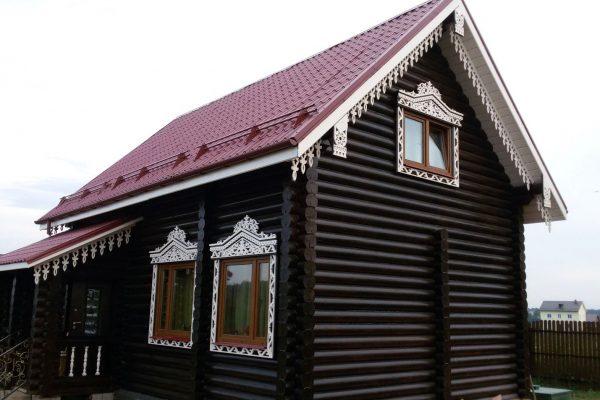 Глянцевый фасад, обработанный алкидной краской