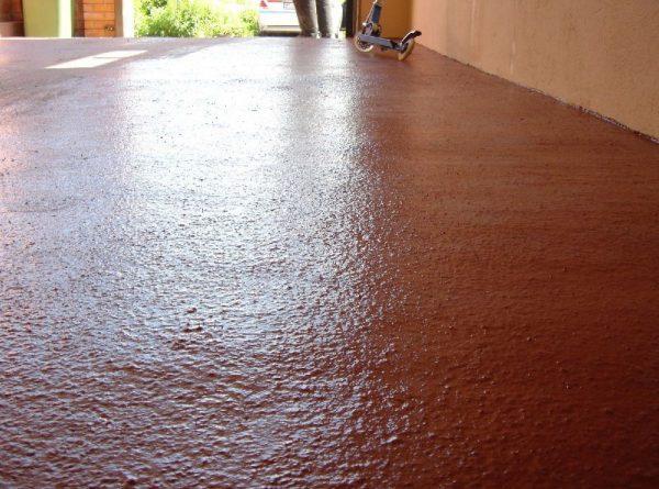 Использование ПФ-115 для покраски бетонного пола