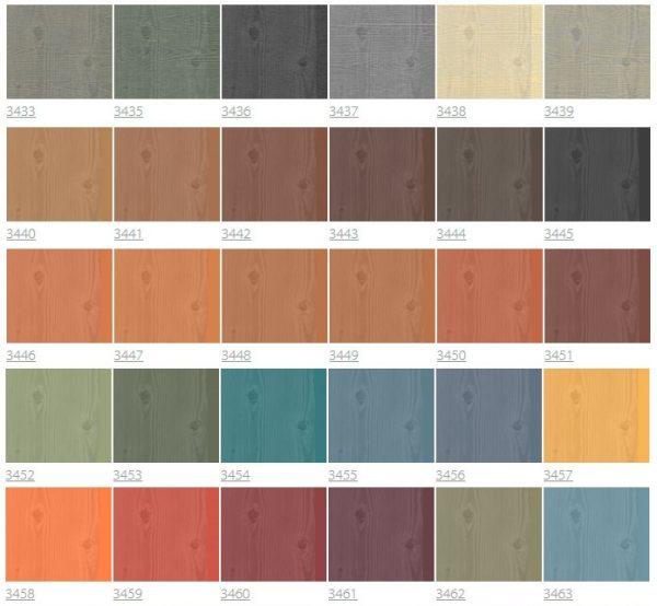 Восковые краски облагораживают красивую поверхность фальш-бруса и слегка тонируют