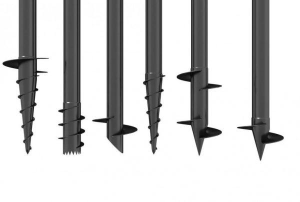Винтовые металлические сваи