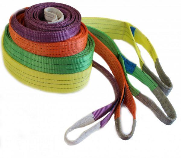 Ленточные стропы — доступный и простой материал для перемещения панелей