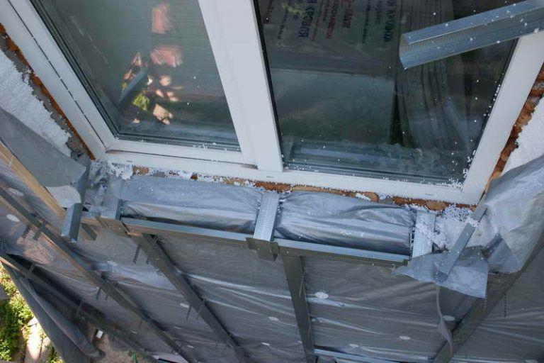 Обрешетка окна под сайдинг своими руками 29