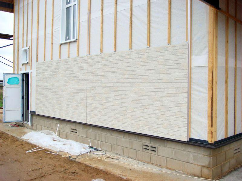 Фасадные фиброцементные панели своими руками