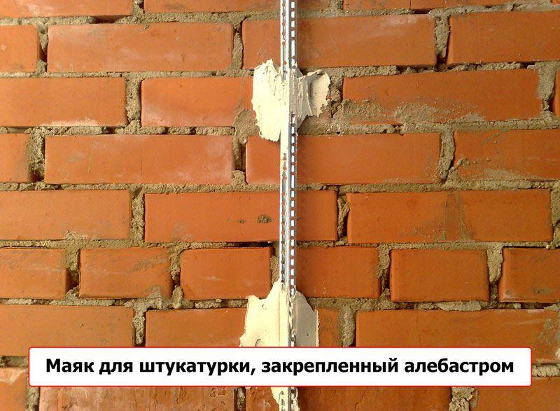 Штукатурим стены по маякам своими руками