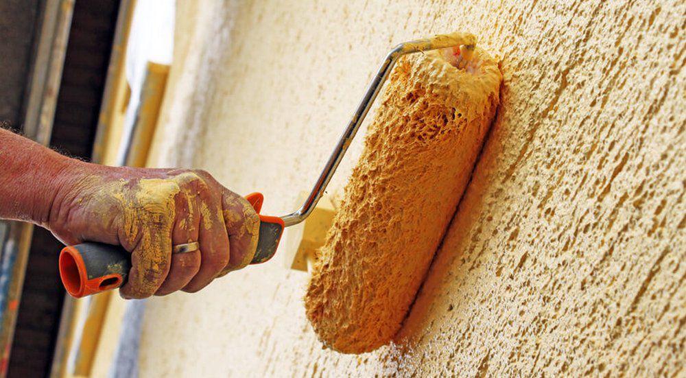 for Crepi mur exterieur rouleau