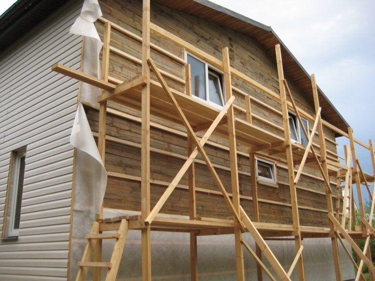 Как прибивать вагонку к фасаду здания - инструкция и основные правила монтажа