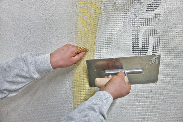 Фасадная армирующая сетка