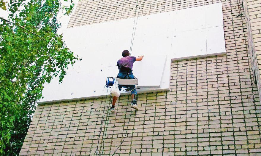 По мере повышения толщины блоков пенопласта, растет дееспособность системы к шумопоглощению