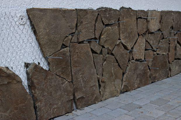 Как сделать облицовочный камень