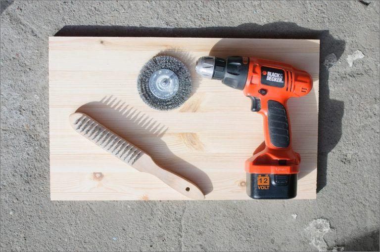 Инструмент для старения древесины своими руками 61