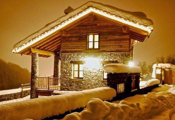 Очаровательное зимнее шале