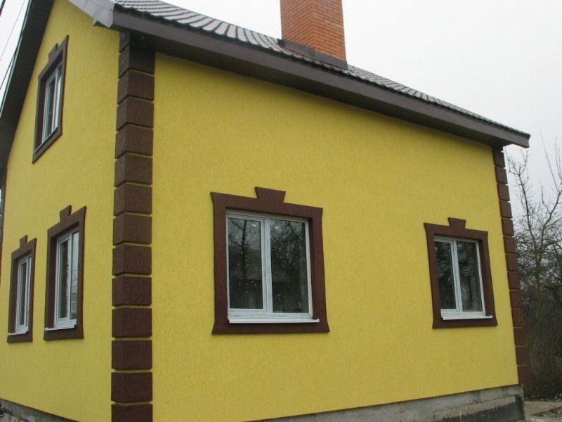 Покраска оштукатуренного фасада дома своими руками