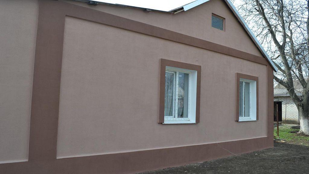 фасады из пенопласта домов фото