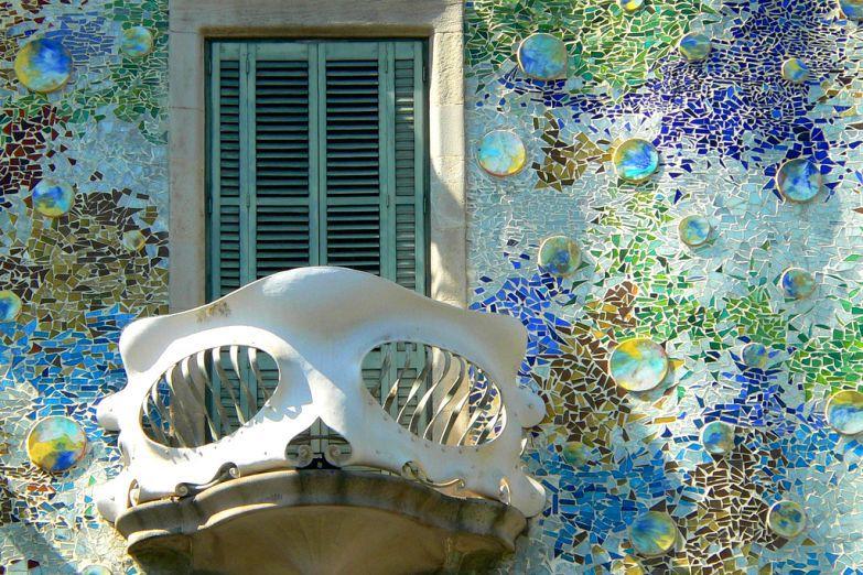 Прекрасная мозаика дома Бальо